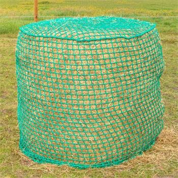 VOSS.farming Rundballennetz, Heunetz für Rundballen - 1,50x1,50m, Maschenweite 4,5x4,5cm