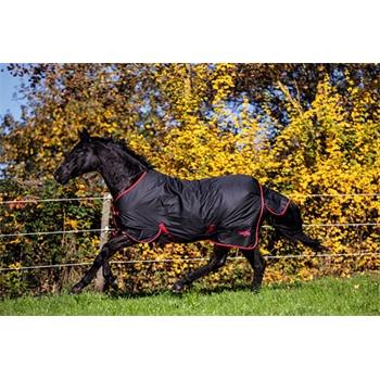 RugBe Zero.1 Regendecke für Pferde, ohne Füllung, 600 Denier