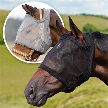 505470-1-pferd-pony-fliegenschutz-fliegenmaske-grau-schwarz-ohne-ohren-augenschutz-bremsenabwehr-qhp