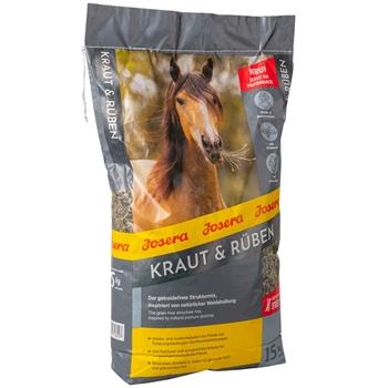 """JOSERA """"Kraut & Rüben"""", getreidefreier Strukturmix für Pferde, 15kg"""