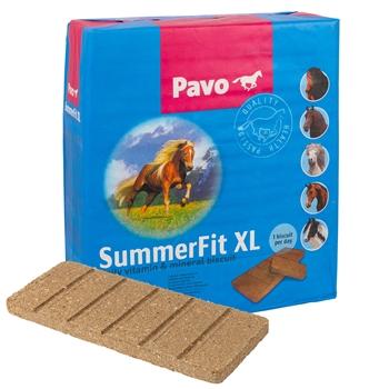 """Pavo """"SummerFit XL"""", das tägliche Vitamin- und Mineralbrikett für Pferde, 15kg"""
