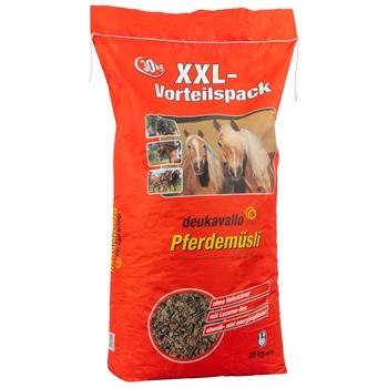 """Deukavallo """"Pferdemüsli XXL"""" Vorteilspack, Pferdefutter ohne Haferkörner, 30kg"""