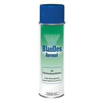 KERBL BlauDes Aerosol zur Flächendesinfektion, gegen Bakterien und Pilze, 500ml