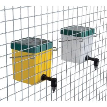 Trinkflasche 0,5L mit Bügelhalterung (gelb)