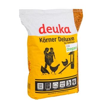 Deuka Körner Deluxe, Premium-Körnermischung für Geflügel, 15kg