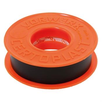 VOSS.eisfrei Isolierband 10m x 15mm, PVC, VDE, Certoplast 601, schwarz