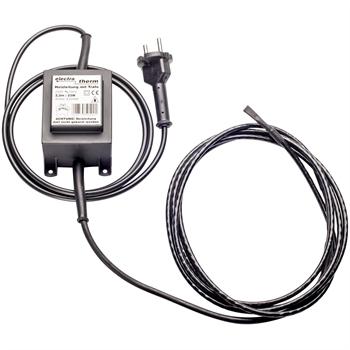 electra-Therm 12V, mit Trafo, Frostschutzheizung, Heizkabel 2,2m
