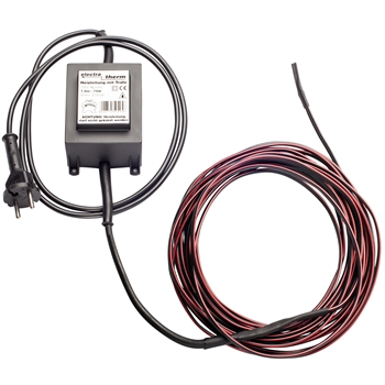 electra-Therm 12V, mit Trafo, Frostschutzheizung, Heizkabel 7,9m
