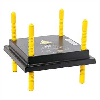 Küken Wärmeplatte Comfort Brutgerät 25x25cm / 15W mit stufenlosem Regler