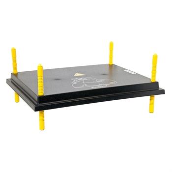 Brutgerät Küken Wärmeplatte Comfort 40x50cm / 50W