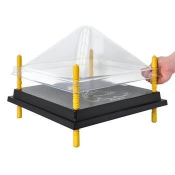 Schutzabdeckung für Wärmeplatte 40x40cm, Kunststoff (PET)