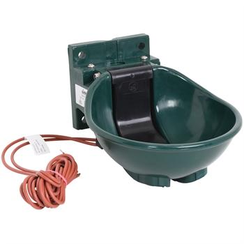 """Lister """"SB 2 H/230"""" Kunststofftränke beheizbar 45 Watt, mit Heizkabel, grün"""