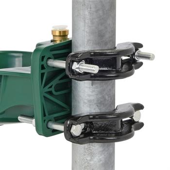 Rohrbefestigung für Tränkebecken, Befestigungsbügel, 120mm