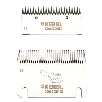 Kerbl Schermesser-Set Constanta3+4 (31/23 Zähne)