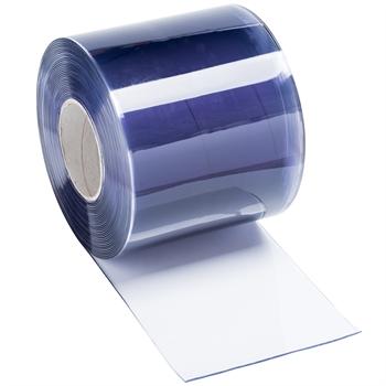 25 m Rolle zum Selbstanfertigen von PVC Streifen für transparenten PVC Lamellenvorhang, 30 cm x 3 mm