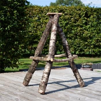 """VOSS.garden Vogelhausständer aus Birkenholz """"schwer"""", extrem standfest, 115cm"""