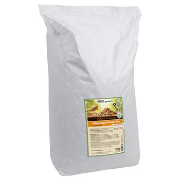 VOSS.garden Premium-Vogelfutter Power Mix für Wildvögel - ohne Weizen, ohne Schalen - 20kg Sack