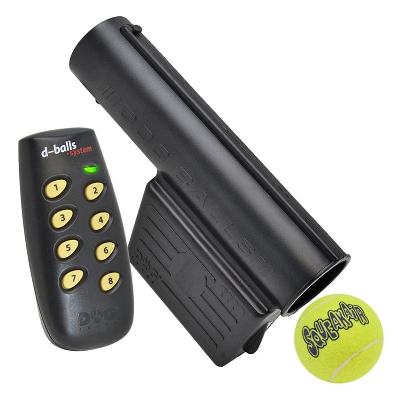 """DogTrace """"d-balls"""" Ballfallmaschine für Hundetraining und  -ausbildung, inkl. Fernbedienung"""