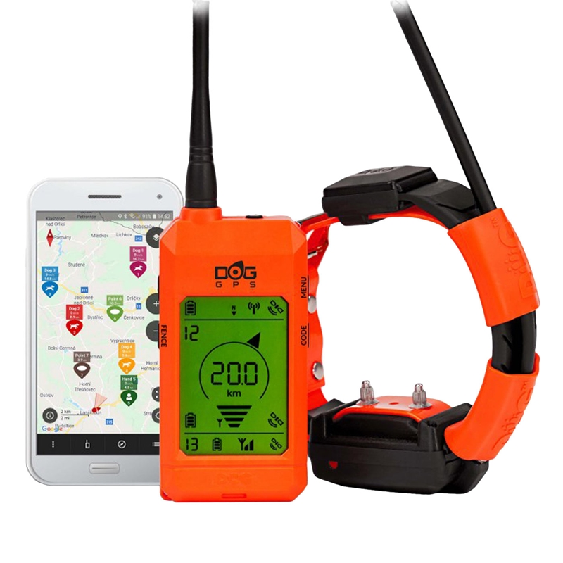DogTrace X30 T GPS, mit Google Maps