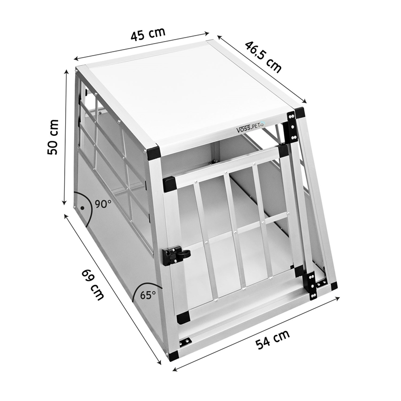 26795-2-Hunde-Transportbox-Lucky-Single-Door-Eine-Tuer-Bemassung.jpg