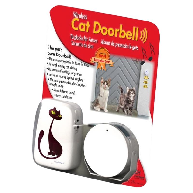 cat doorbell t rglocke f r katzen. Black Bedroom Furniture Sets. Home Design Ideas