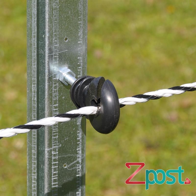 42220-Ringisolator-befestigt-am-ZProfilpfahl-ZPost-Z-Post.jpg