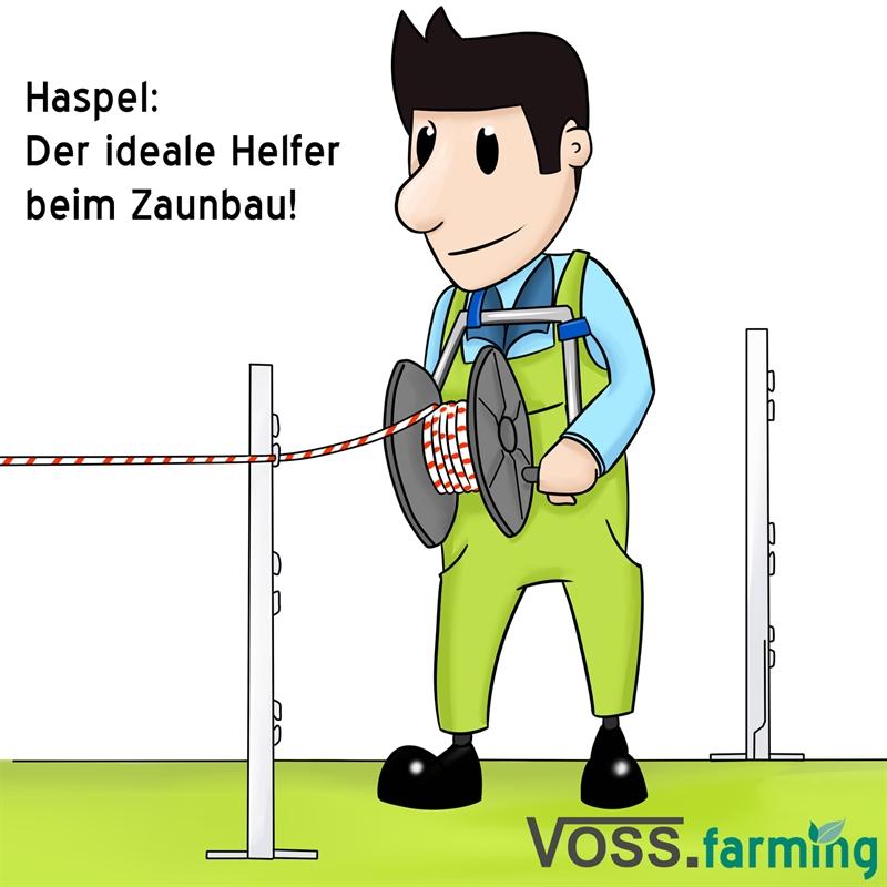 43414-Weidezaunhaspel-Kunststoffhaspel-Weidehaspel-auf-Gestell-Praxisbild.jpg