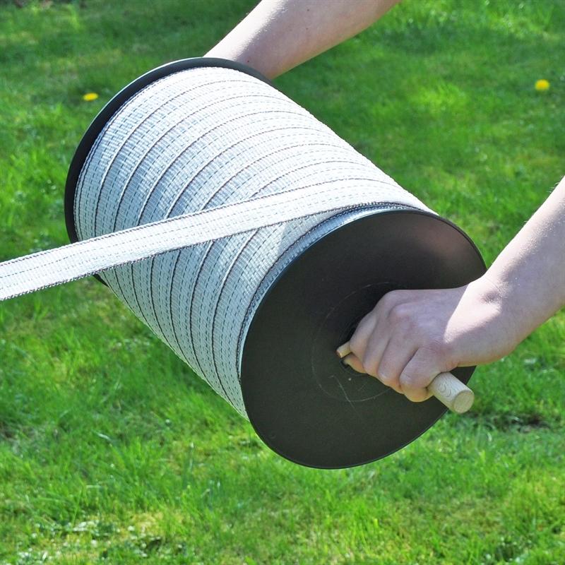 Abrollhilfe für Litzen, Seile und Bänder