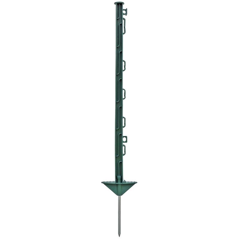 20x Kunststoffpfähle, 74cm, grün