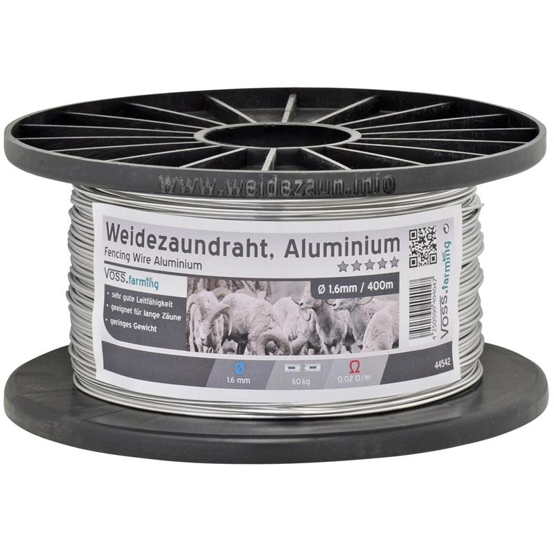 VOSS.farming - Aluminium-Draht, Aludraht 400 m / 1,6 mm