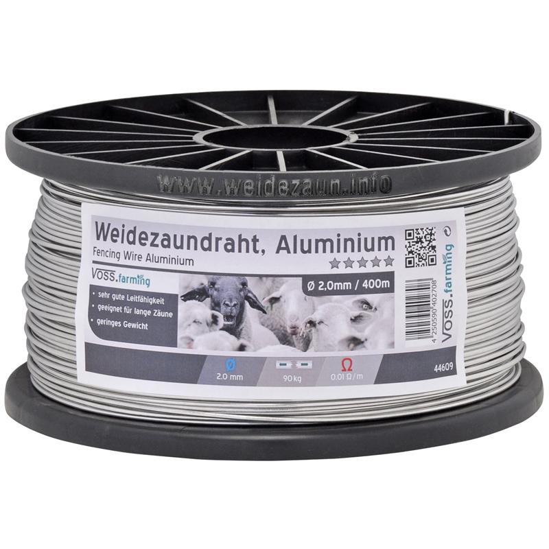 Weidezaundraht Aluminium