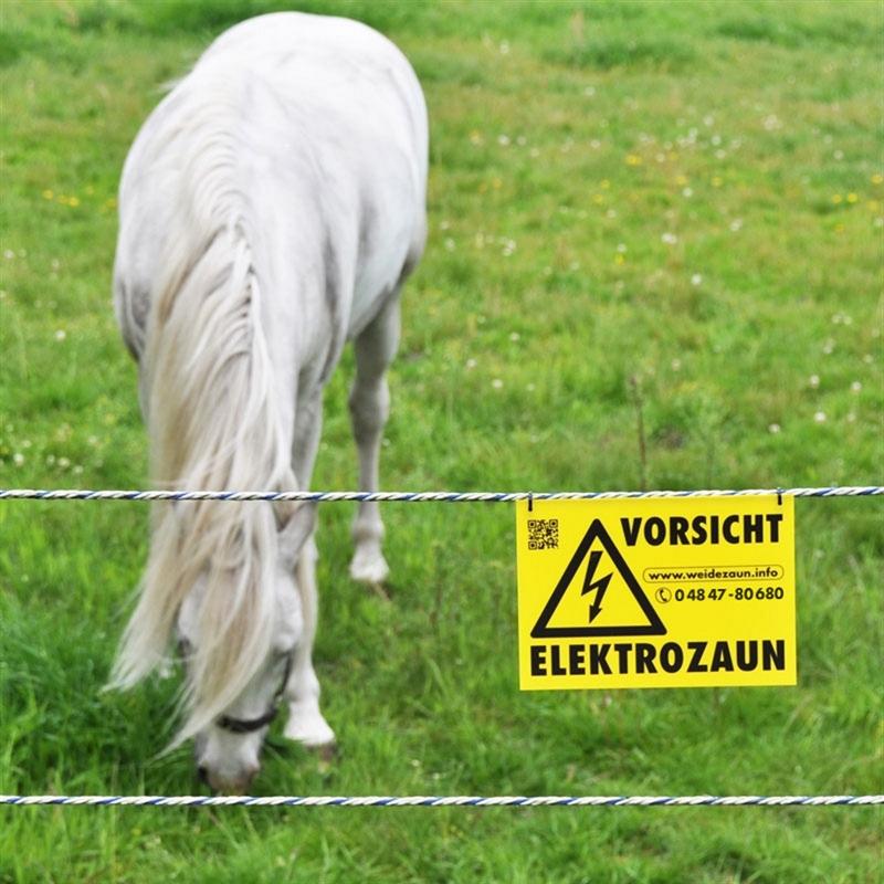 44735-Vorsicht-Elektrozaun-Hinweisschild-Pferd-im-Hintergrund.jpg