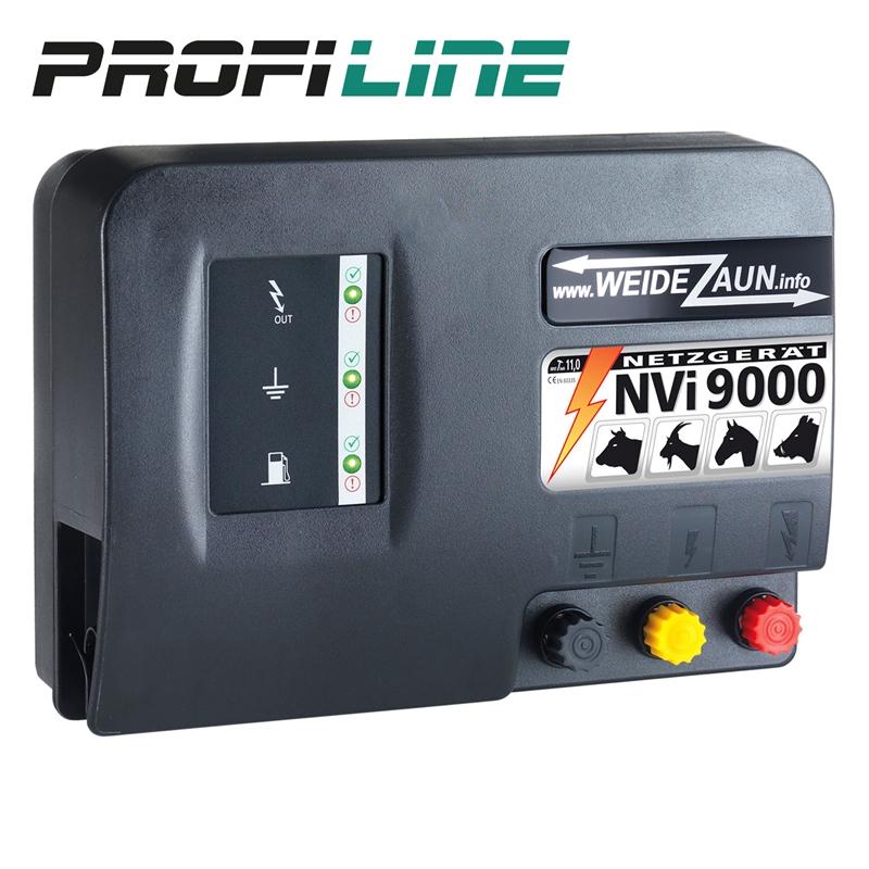 Ganz und zu Extrem 230V Weidezaungerät, extra stark, NVi 9000 #QK_39