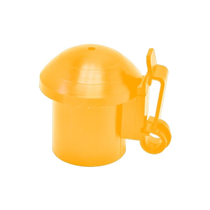 10x VOSS.farming Kopfisolator T-Post, gelb