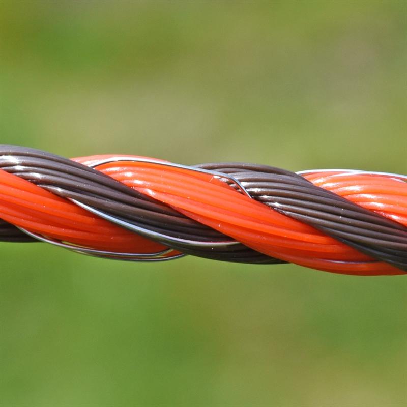 45584-VOSS.farming-Profiline-Weidezaunseil-ideal-Detailansicht-braun-orange.jpg