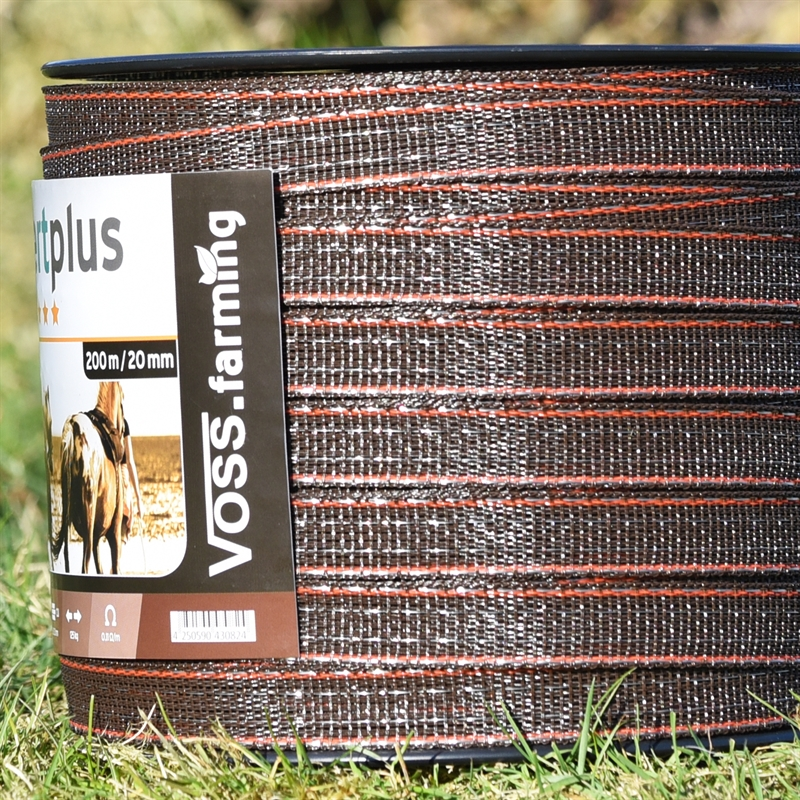 45586-VOSS.farming-Expertplus-hochwertiges-Weideband-20mm-braun-orange.jpg