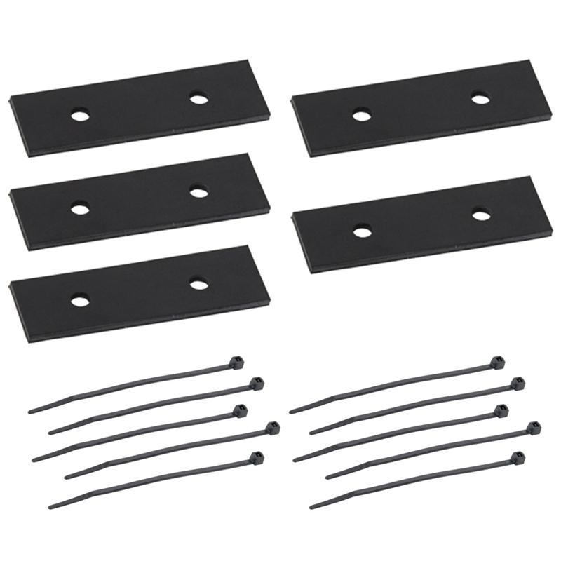 5x VOSS.eisfrei Abstandshalter für Heizkabel inkl. Kabelbinder, Abstandhalter