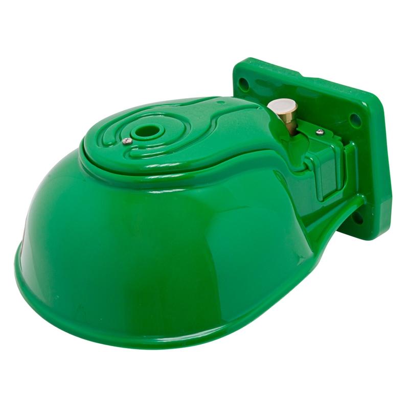 Heizbares Kunststoff-Tränkebecken mit Rohrventil H