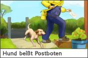 Hundehalter.net Ratgeber - Hund bei�t Postboten