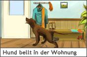Hundehalter.net Ratgeber - Hund bellt in der Wohnung