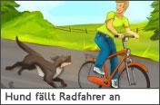 Hundehalter.net Ratgeber - Hund greift Radfahrer an