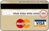 Kreditkartenprüfsumme finden