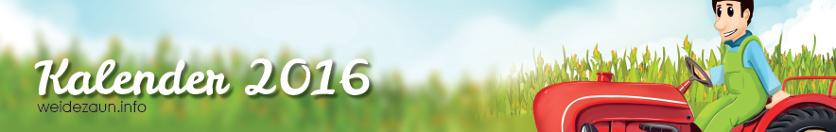 Weidezaunkalender 2016