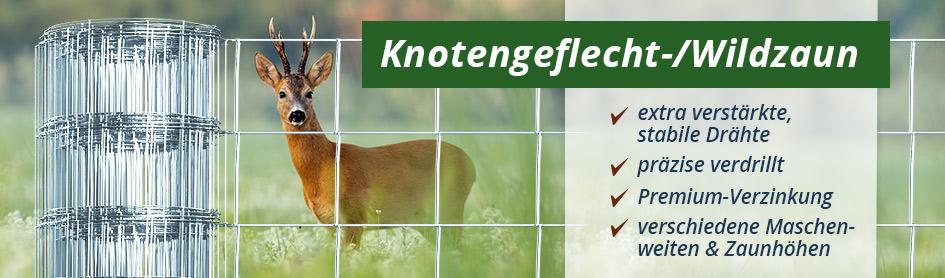 Knotengeflecht / Wildzaun