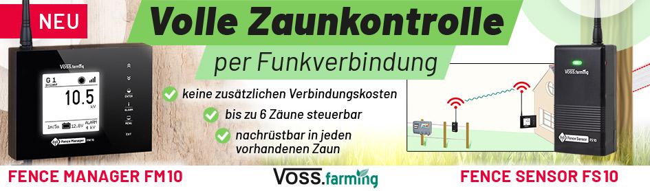 Volle Zaunkontrolle - Fence Manager & Fence Sensor